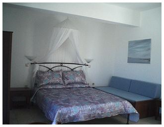 Accommodation in Naxos Studios Elli